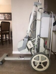 Mobile Digital X ray Machine With Cr System Dynarad And Viztek Opal Ii
