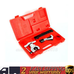 3 16 3 4 Copper Pipe Aluminum Pipe Steel Eccentric Flaring Tool Kit New