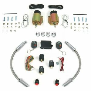 4 Function 50 Lb Remote Shaved Door Kit With Loom Autoloc Autsvpro54dl Custom