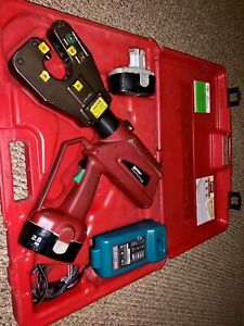 Burndy 4 point Patriot Pat4pc834 18v Battery Actuated Self contained Hydraulic