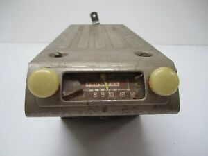 Vtg 1946 1947 1948 Truetone D4818 Am Tube Car Radio Ford Chevy Dodge Buick As Is