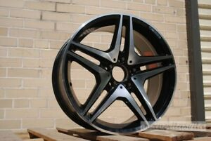 18 Amg Black Style Wheels Rims Fits Mercedes Benz Cls500 Cls550 Cls55