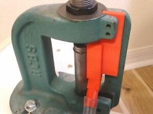 RCBS reloading press JR2 and JR3 PRIMER CATHER upgrade.  (red)