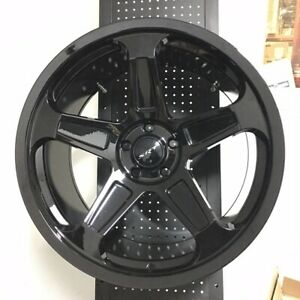 20 Demon Srt Style Gloss Black Wheels Rims Fits Chrysler 300 Srt8 300c Rwd Only