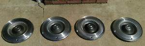 Set Of 4 1971 1977 Ford Mercury Hubcaps 14 Inch
