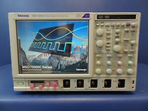 Tektronix Mso72004c 20 Ghz Mixed Signal Oscilloscope With Options