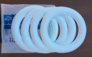 Vintage Lester Tire Style 15 Wide White Wall Inserts Trim Free W Wide Carriage