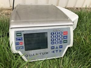 Hobart Deli Weight Electric Scale Printer Quantum Qmax Commercial Label