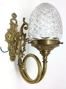 Stunning Victorian Style Wall Lamp 28 X 20 Cms
