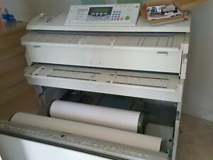 Ricoh Aficio 240w Wide Format Printer Plotter Great Cosmetics Scan And Print