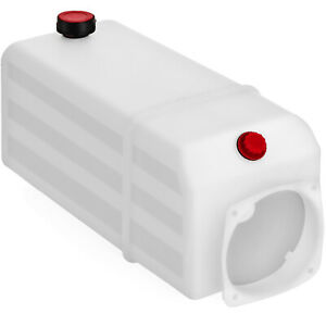 10l Plastic Oil Reservoir Tank Auto Lift Power Unit For White Reservoir Tank