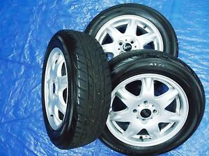 2002 2015 Mini Cooper 175 65 R15 Yokohama Tire Factory Wheel Set Oem