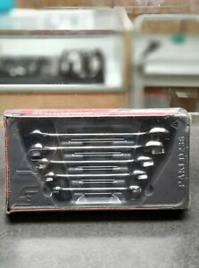 New Snap on Tools Metric Open End Wrench Sets 10 19mm Vom705 Sealed
