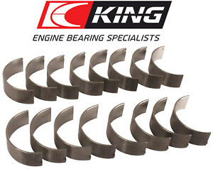 King Cr808hpn Connecting Rod Race Bearings Set For Chevy 396 402 427 454 502