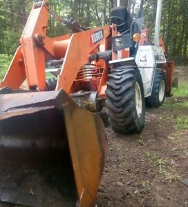 1986 Kubota R400 4x4 Articulating Loader W Backhoe Portable Powerhouse 3301hrs