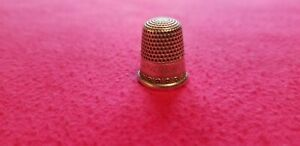 Antique Simon Brothers Sterling Silver Thimble