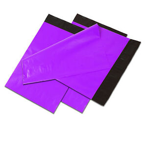 9x12 Purple Poly Mailers Shipping Envelopes Self Sealing Plastic Mailing Bags