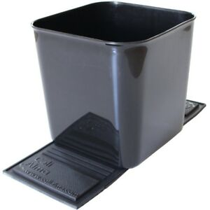 3 Trash Bin Auto Car Garbage Can Vehicle Waste Container Quality Plastic X large