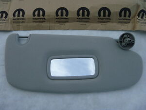 Dodge Ram Truck Pickup 07 10 Sun Visor Sunvisor Right R Passenger Gray Beige New