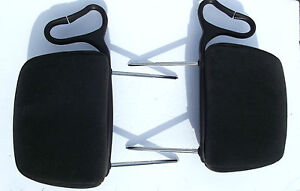 2000 2005 Chevrolet Monte Carlo Ss Head Rest Pair L r Oem Charcoal Gray Cloth