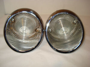 C 2 Corvette 1963 1966 Back Up Lights Assy Right Left Set Guide