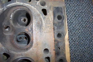Ford D80e Ab Wcp Cylinder Heads Pair 2 351 W Engine Good Seats 7 7 8h25