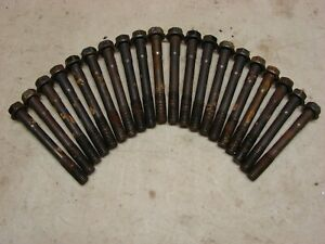 Used Oem 351 Cleveland Cylinder Head Bolts
