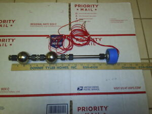 Delaval Ls 800 Switch Liquid Level W o Relay Stainless 2 Float 4 Wire New