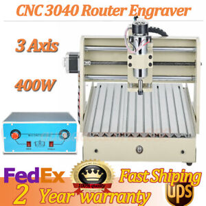 Cnc 3040 Routers Engraving Machine Kits 3 Axis 400w Drilling Milling Machine