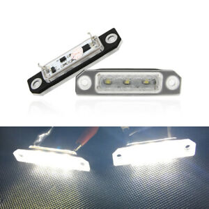 Fits For Ford Flex Focus Fusion Mustang Taurus White Led License Plate Light 2pc
