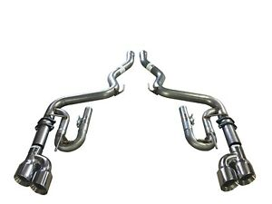 Ford Mustang Gt 5 0l Axle Back Exhaust 18 19 Solo Performance