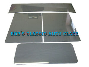 1933 Chevrolet Truck Classic Auto Glass New Vintage Chevy Flat Windows Pickup