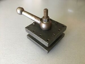 Square Lathe Tool Post Indexing Holder South Bend Clausing Atlas Craftsman