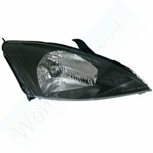 Head Driver Left Side Lamp Replacing For Ford 2002 2003 Focus W Svt Headlight