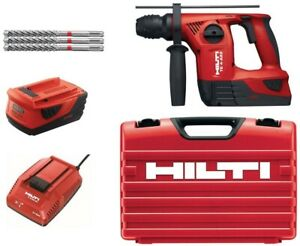 Hilti Rotary Hammer Drill 22 volt Lithium ion Cordless Brushed Variable Speed