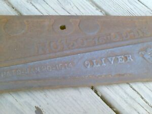 Farmhouse Oliver Tractor Part Industrial Collectible Vintage Antique 1914