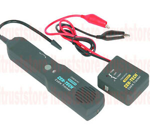 Electrical Wire Finder Phone Speaker Line Tracer Cable Tracker Circuit Tester