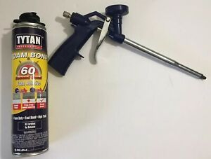 Tytan Foam Bond 60 Pro Foam Adhesive 60 Second Bond With Applicator Gun