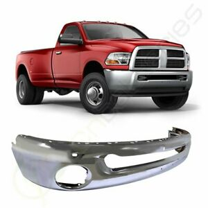 New Complete Front Chrome Bumper For 2002 2009 Dodge Ram 1500 2003 2009 Ram 2500