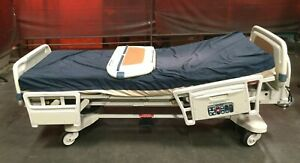 Stryker Secure Ii Roiling Electric Hospital Medical Surgical Patient Bed Lot 3
