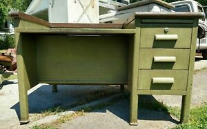 Vintage Cole Steel Industrial Desk