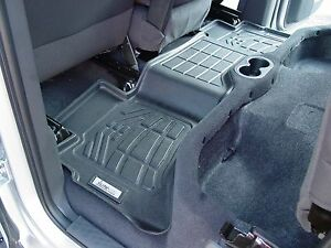 2nd Row Floor Mats By Wade Black 2009 2014 Ford F150 Super Cab
