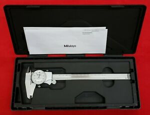 Mitutoyo D8tx 505 743 001 Dial Caliper W Manual And Case Free Shipping