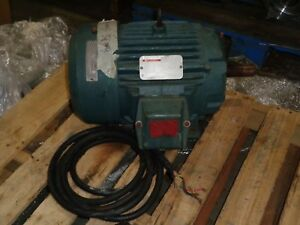 Reliance Electric Duty Master Motor 10hp 230 460v 22 2 11 1a p21g3319h