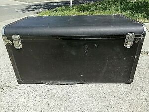 1929 1930 1932 Original Packard Motor Co Leather Luggage Trunk Rare Vintage Cond