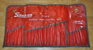 Snap On C 211a Punch And Chisel Set Pouch Only For Ppc 200 K Never Used As Found