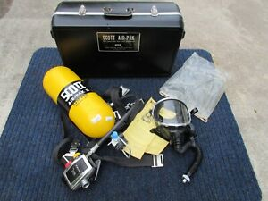 1994 Scott Air Pak Pack Ii Scba 2216 Psi Aluminum Air Tank Paintball Movie Prop
