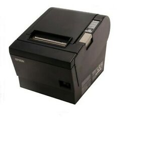 Epson Tm t88ii Thermal Receipt Printer M129b Serial Interface With Power Supply