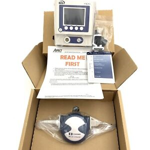 Aspect Medical System Bis View Bispectral Index Monitor W accessories New
