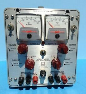 Twin Power Supply Model Tw5005 Power Designs Ny Ambitrol Silicon Semiconductor